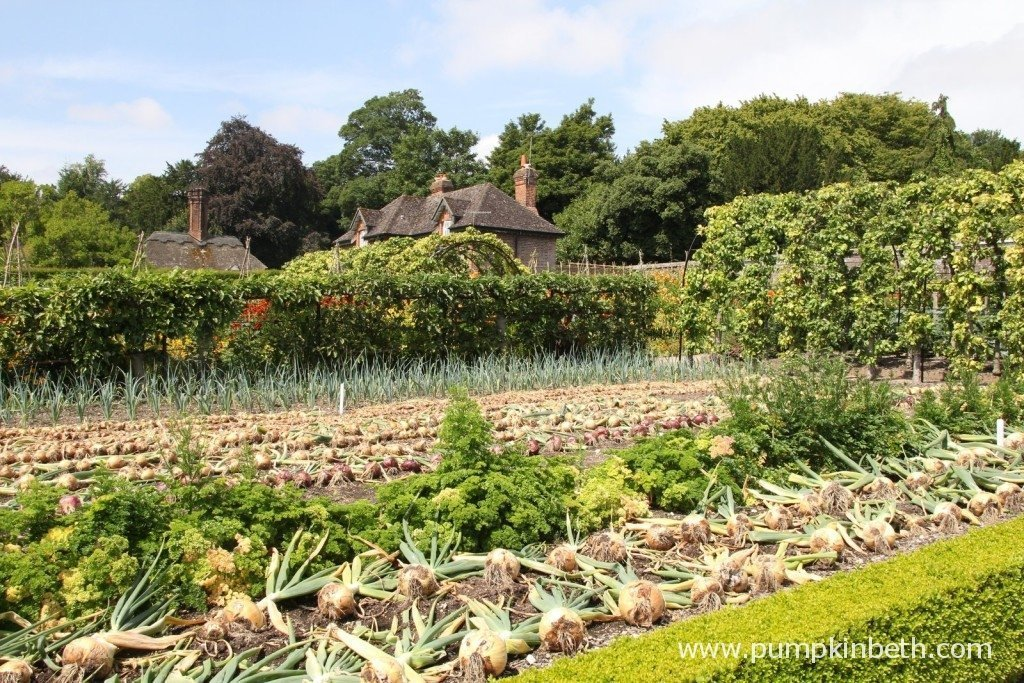 West Dean Gardens, Chichester in West Sussex has a truly inspiring and beautiful vegetable garden