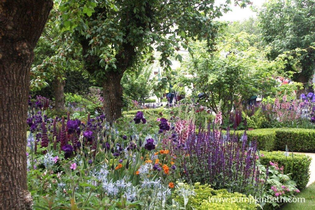 The Morgan Stanley Healthy Cities Garden, designed by Chris Beardshaw
