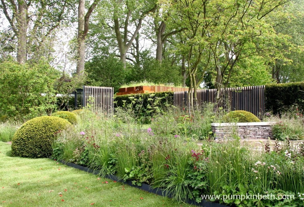 The Cloudy Bay Garden in association with Vital Earth, designed by Harry and David Rich