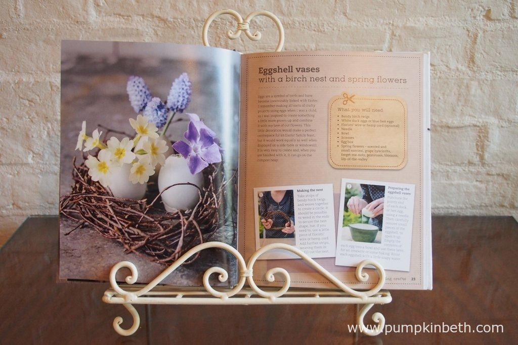 The Crafted Garden by Louise Curley, with photography by Jason Ingram, features craft projects inspired by the seasons, all created using natural materials, most of which can be found in the garden, or at your allotment.
