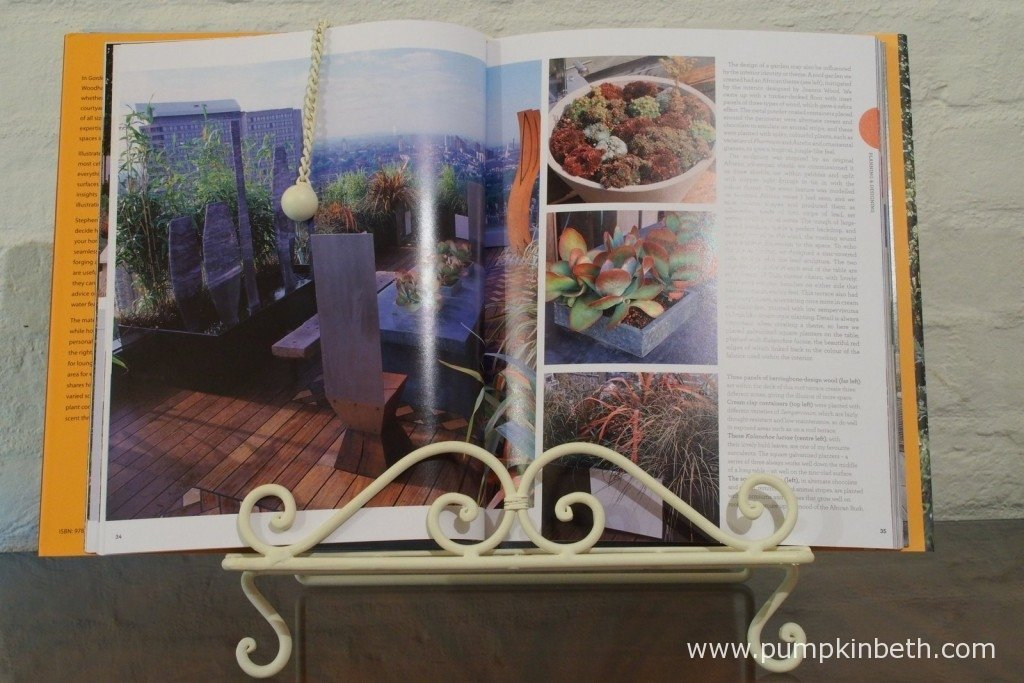 If you're looking to improve or re-design the entertaining areas of your garden, you'll find lots of inspiration in this book.