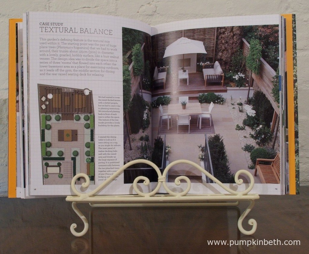 There are a number of case studies of real gardens that Stephen Woodhams has designed for his clients that feature in Stephen's latest book, 'Garden Design Solutions'.