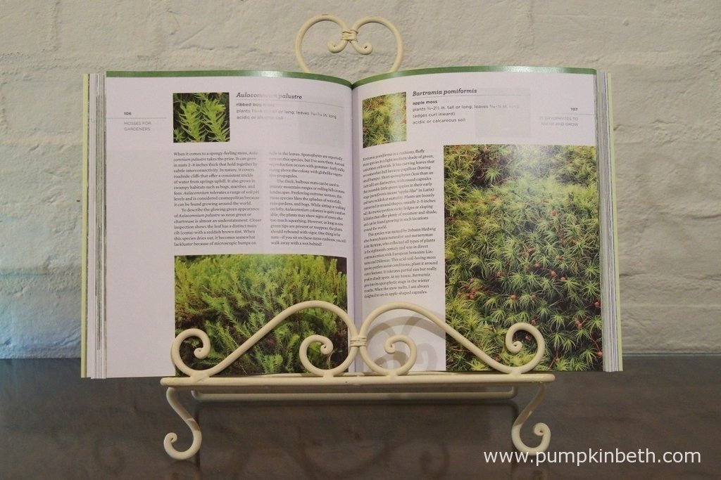 In 'The Magical World of Moss Gardening' you'll find information on 25 different species of moss.