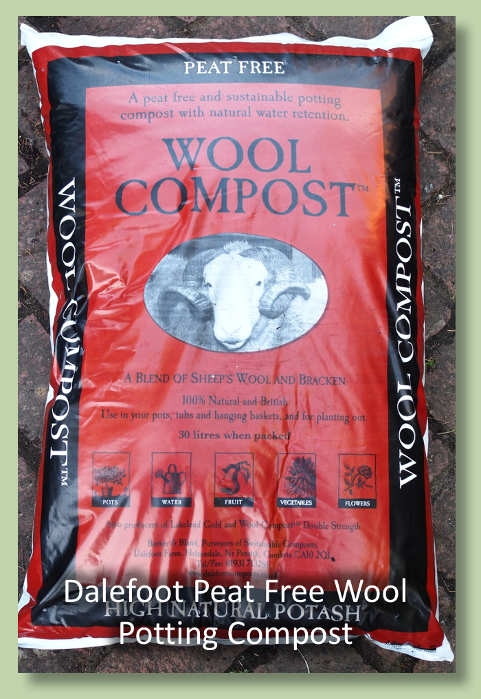 Dalefoot Composts Wool Potting Compost