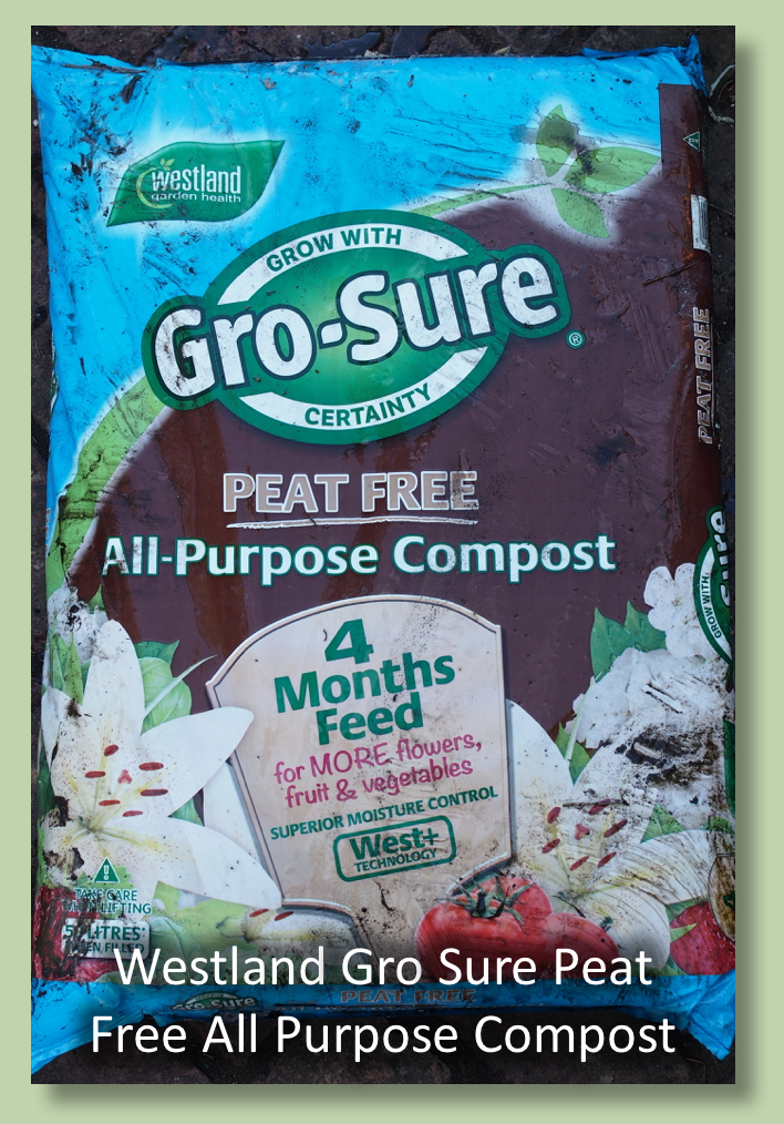 Westland Gro-Sure Peat Free All Purpose Compost