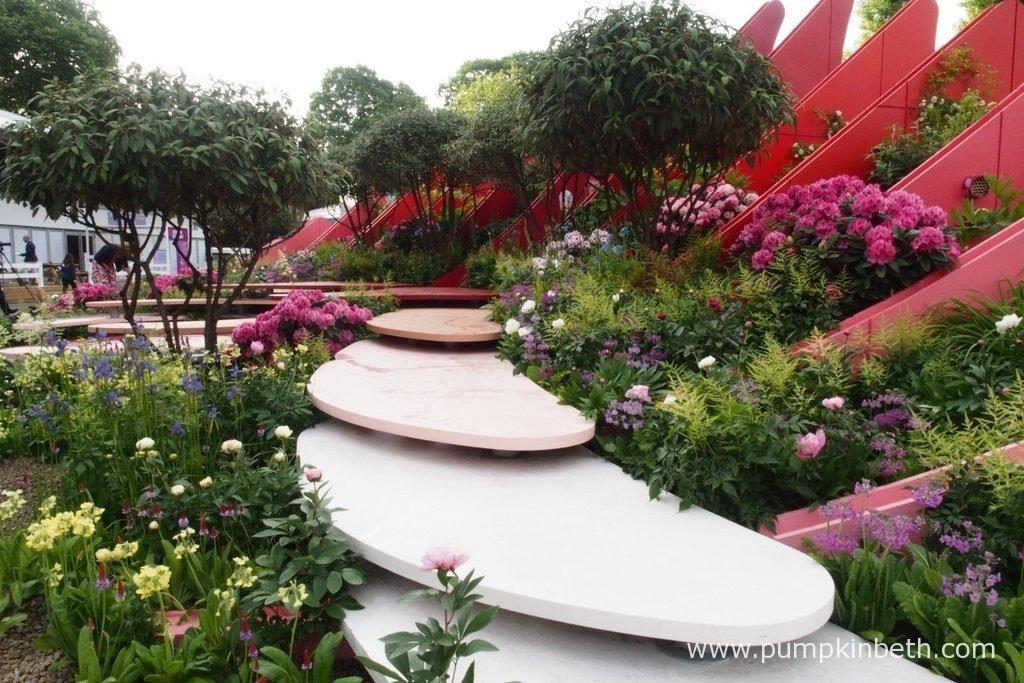 rhs chelsea flower show 2017 pumpkin beth. Black Bedroom Furniture Sets. Home Design Ideas