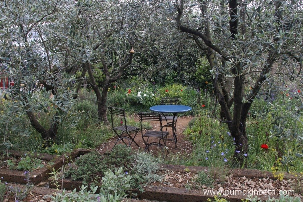The seating area of the garden gave a secluded, relaxed and private, holiday feel to the garden.