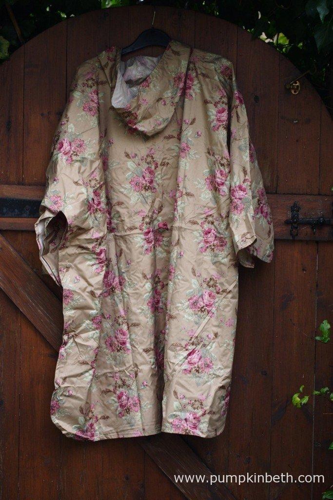 The Garden Girl Rain Poncho.