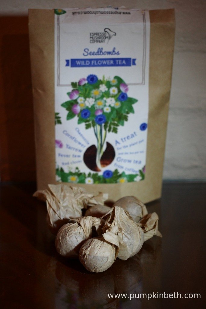 The Espresso Mushroom Company's Wildflower Tea Seedbombs.