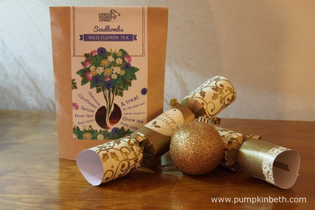 I thought these Wild Flower Tea Seedbombs from the Espresso Mushroom Company would make a fun and interesting gift.