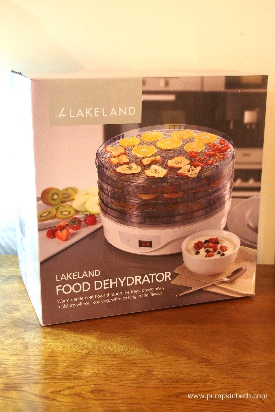 Lakeland My Kitchen Food Dehydrator Review - Pumpkin Beth