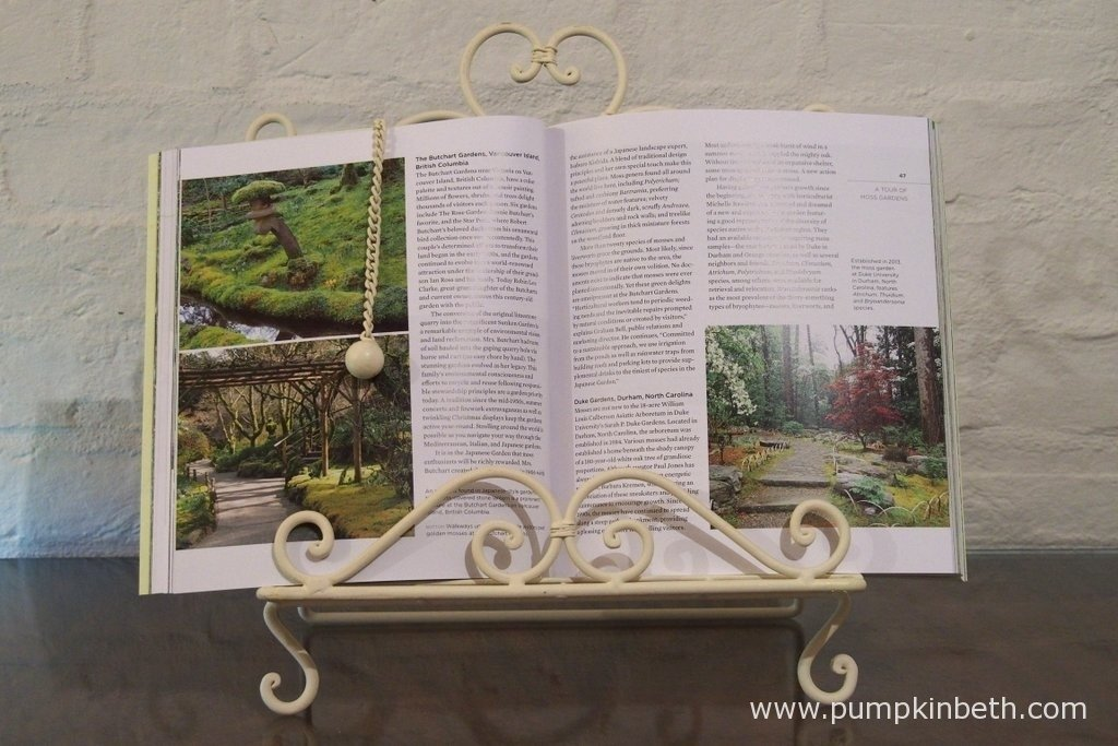In 'The Magical World of Moss Gardening, you'll find information about many different moss gardens.