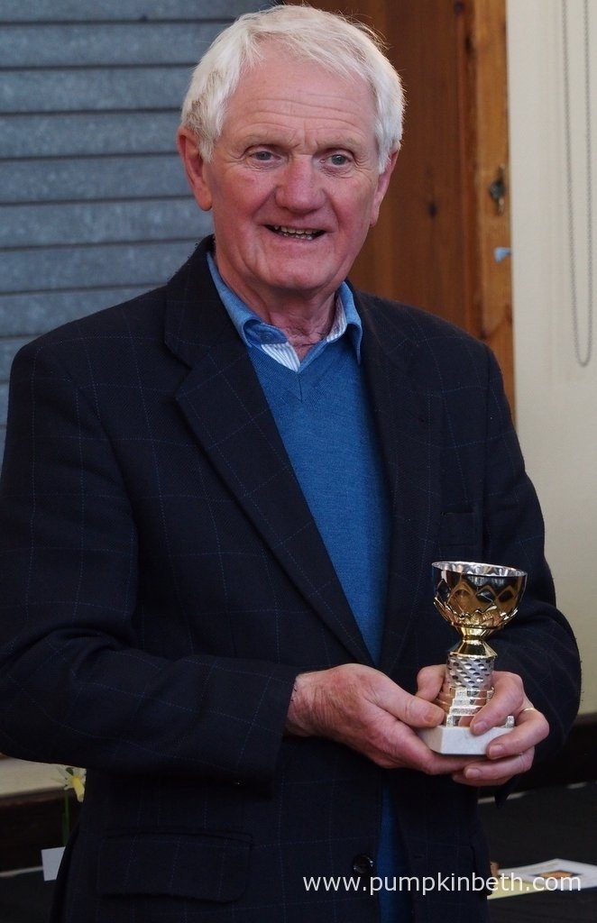 Robin Couchman, pictured with his trophy at The Daffodil Society Mid Southern Group Spring Show 2016.
