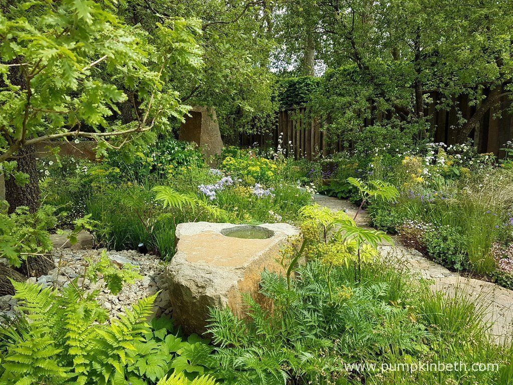 The M&G Garden was designed by Cleve West for The RHS Chelsea Flower Show 2016.