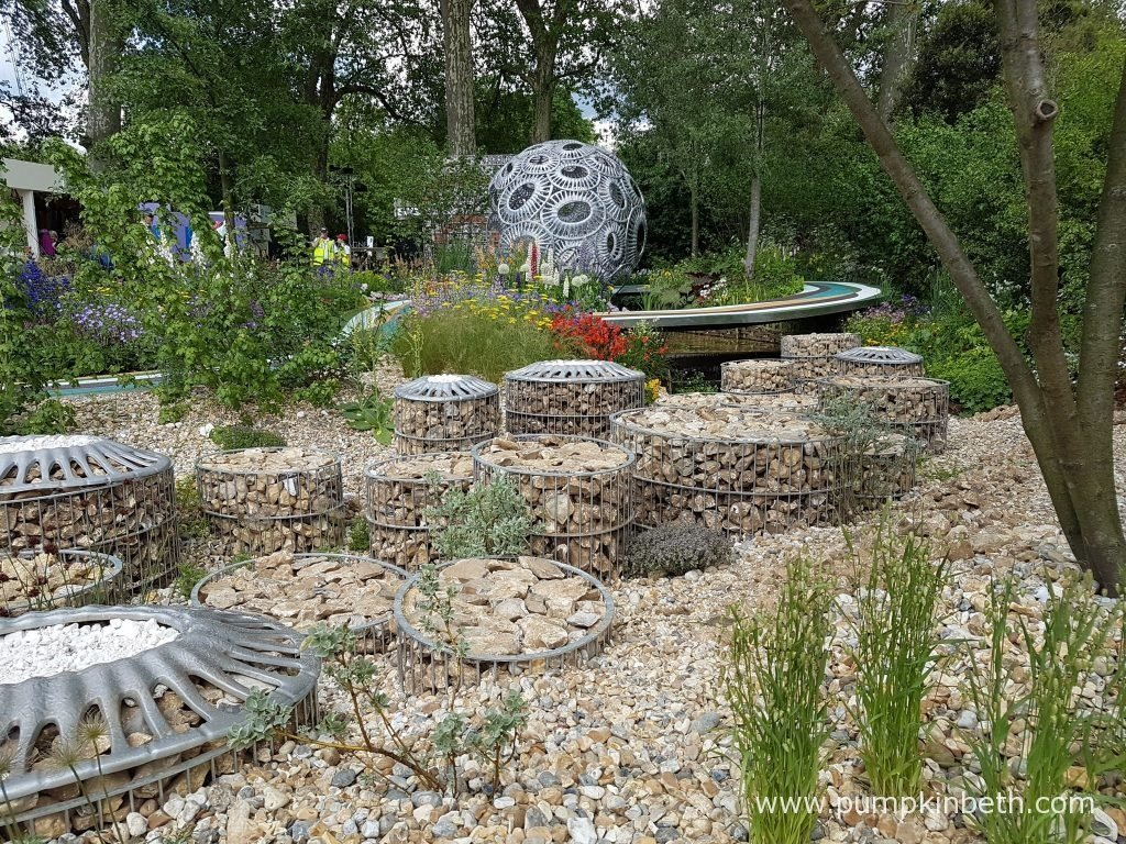 The Brewin Dolphin Garden - Forever Freefolk was designed by Rosy Hardy and built by Bowles & Wyer Contracts. This is Rosy Hardy's first Show Garden at the RHS Chelsea Flower Show.