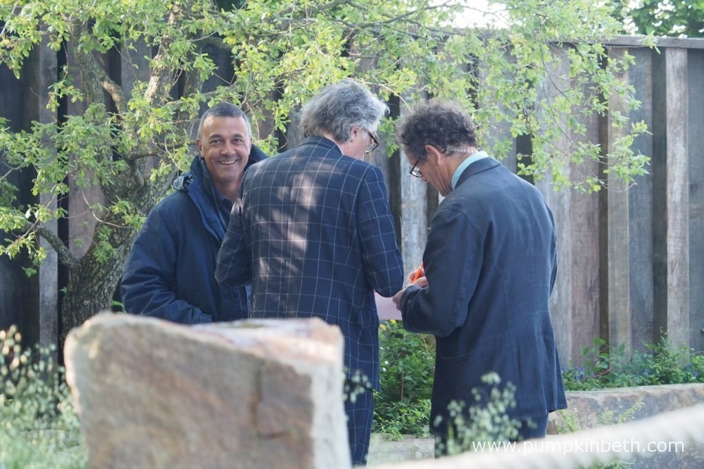 Cleve West talking to Monty Don and the BBC.
