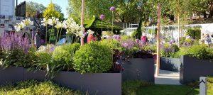 Lee Bestall and The Sir Simon Milton Foundation Urban Connections Garden