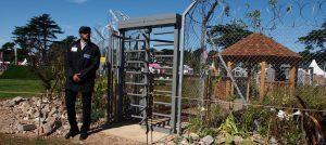 UNHCR: 'Border Control' Garden