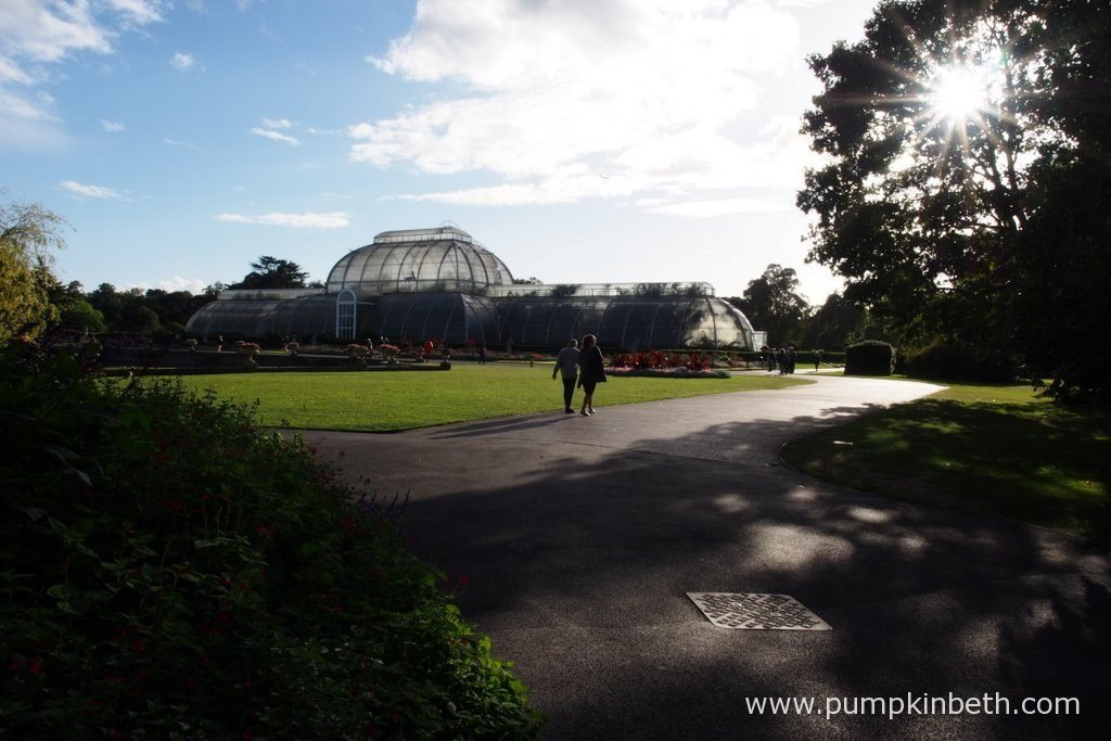 The Palm House at the Royal Botanic Gardens, Kew, is a wonderful place to visit at any time of year.