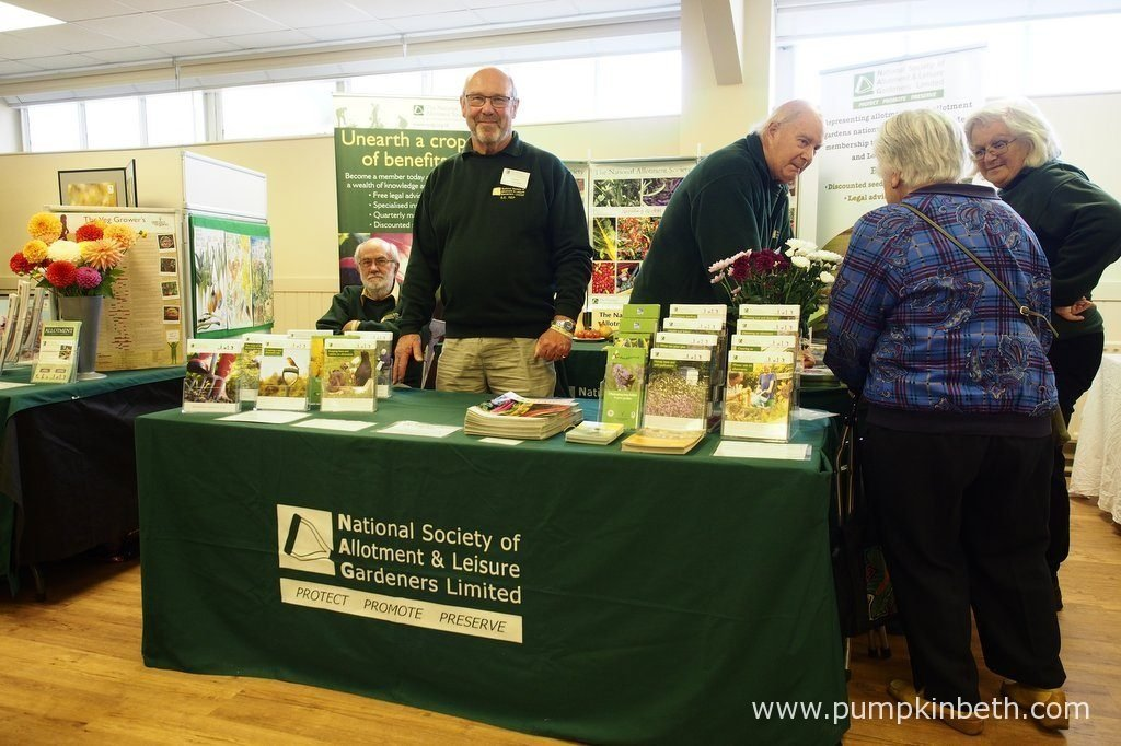 You'll find the great team from the National Society of Allotment & Leisure Gardeners Limited at Taste of Autumn, at RHS Garden Wisley. From the 19th to the 23rd October 2016, you'll find the National Society of Allotment & Leisure Gardeners Limited, inside the Hillside Events Centre, at RHS Garden Wisley.