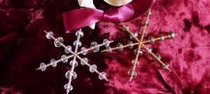 Christmas decorations from Sarah Beevers Jewellery Design