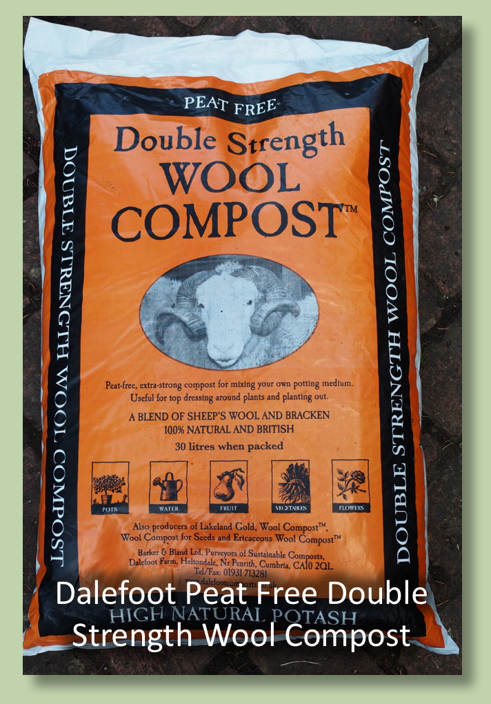 Dalefoot Composts Double Strength Wool Compost