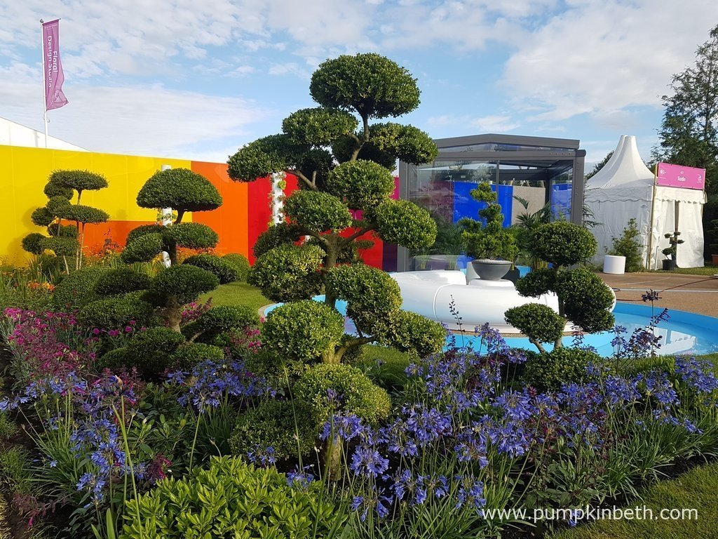 Rhs hampton court palace flower show 2017 pumpkin beth - Hampton court flower show ...