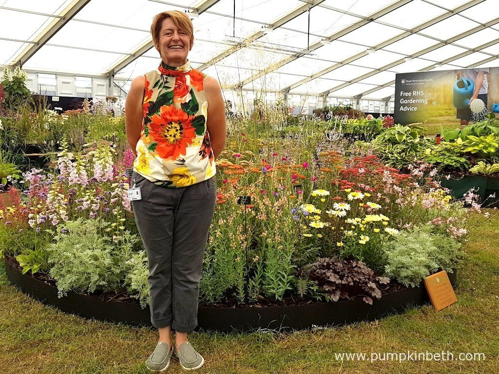 1d8cd971 Anne Godfrey of Daisy Roots Nursery, pictured with her Gold Medal winning  exhibit of herbaceous perennials and grasses, inside the Floral Marquee, ...
