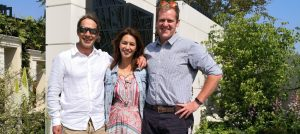 Kate Gould, Keith Chapman, and the New West End Garden
