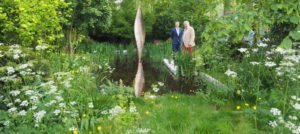 The Savills and David Harber Garden, at the RHS Chelsea Flower Show