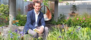 David Neale and the Silent Pool Gin Garden, at the RHS Chelsea Flower Show 2019