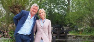 Mark Gregory Welcomes us to Yorkshire, at the 2019 Chelsea Flower Show