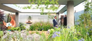 The Silent Pool Gin Garden, designed by David Neale, for the RHS Chelsea Flower Show 2019